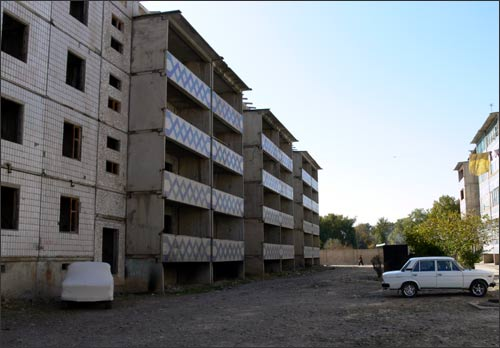 Заброшенные четырехэтажки