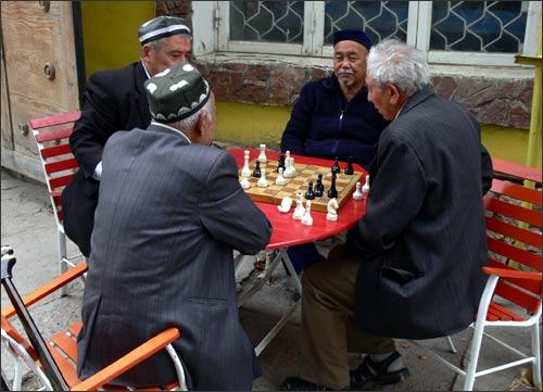 Газалкентские шахматисты