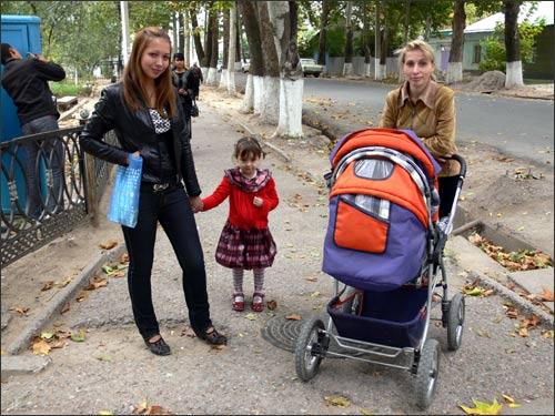 Газалкентские молодые мамы