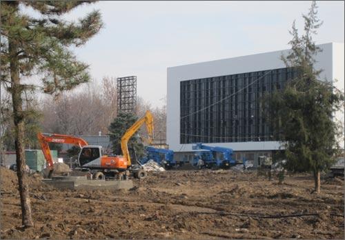 Реконструкция парка Жасорат идет полным ходом