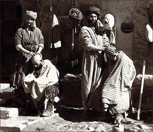 Парикмахеры на Регистане