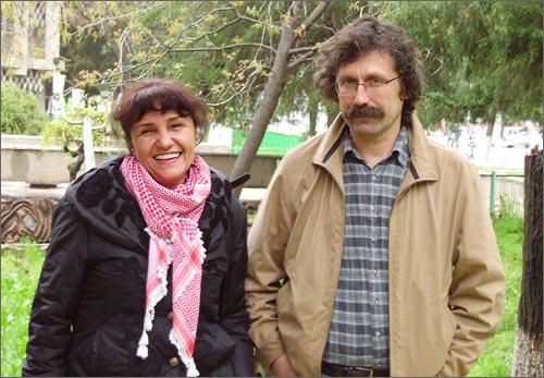 Umida Ahmedova and Oleg Karpov