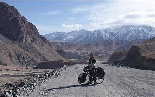 Дуглас Уайтхед на киргизских перевалах