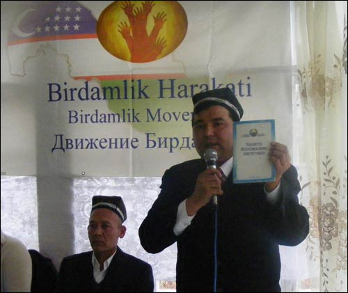 Б.Чориев – на Курултае