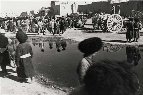 Базар в Турткуле