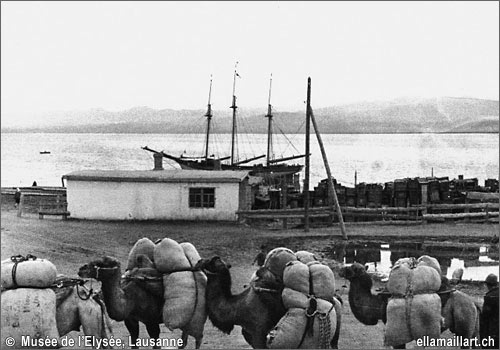 Иссык-Куль, порт Рыбачье