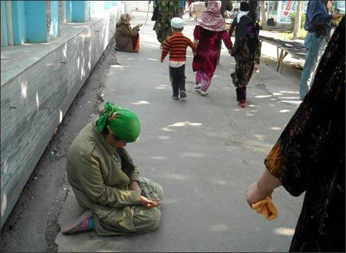 Люли на улицах таджикских городов
