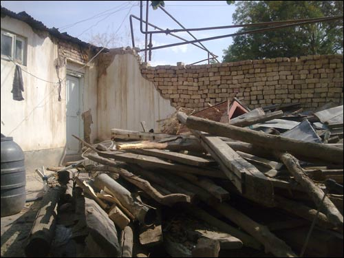Снос домов в махалле Укчи