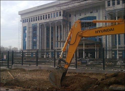 Строительство офиса компании ЛУКойл