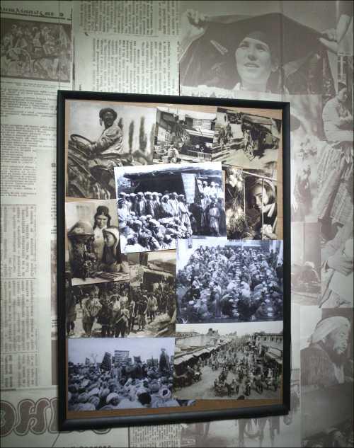 В залах выставки «Туркестанский авангард» царит «информационный фон» начала XX века