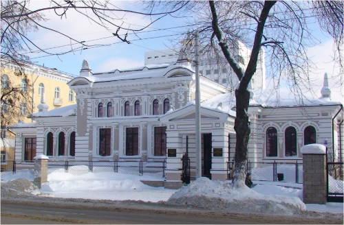 Здание Уфимского Института этнологических исследований
