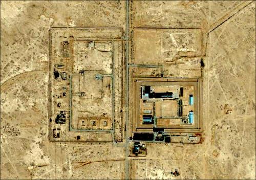 Одна из секретных тюрем Узбекистана – тюрьма Жаслык на плато Устюрт