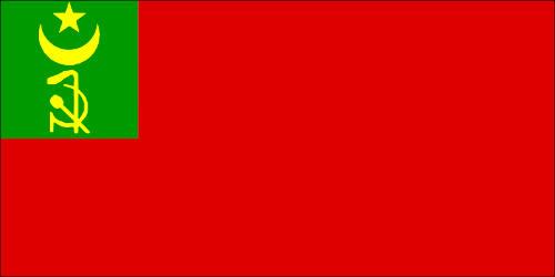 Флаг Хорезмской Народной Советской республики