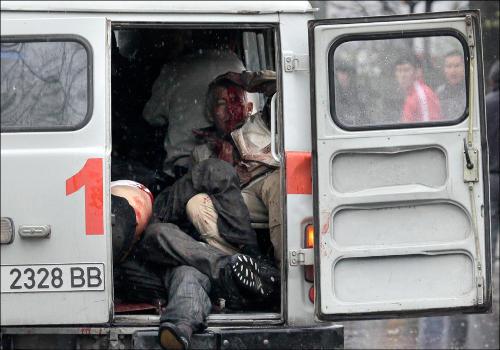 Бишкек, 7 апреля 2010 года