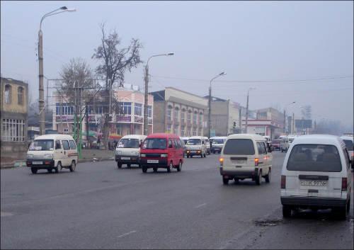 Улицы Андижана