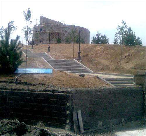 Реконструкция обсерватории Мирзо Улугбека