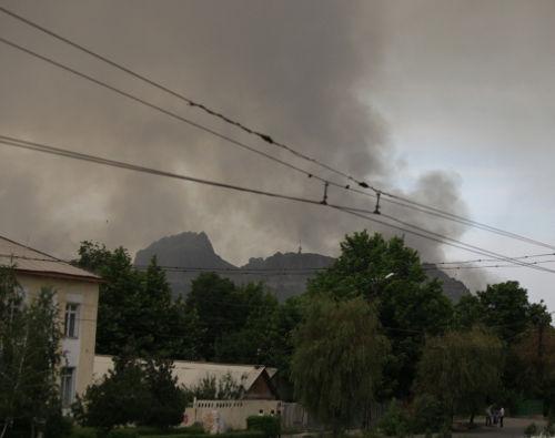 Дым над Сулейманкой
