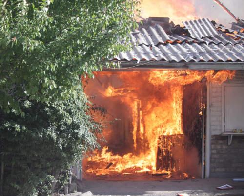 Горящие дома в Черемушках
