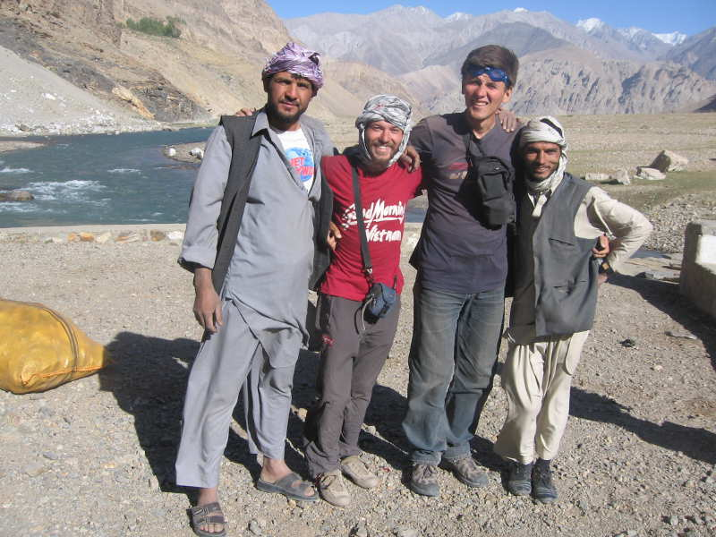Дмитрий Попов в Афганистане