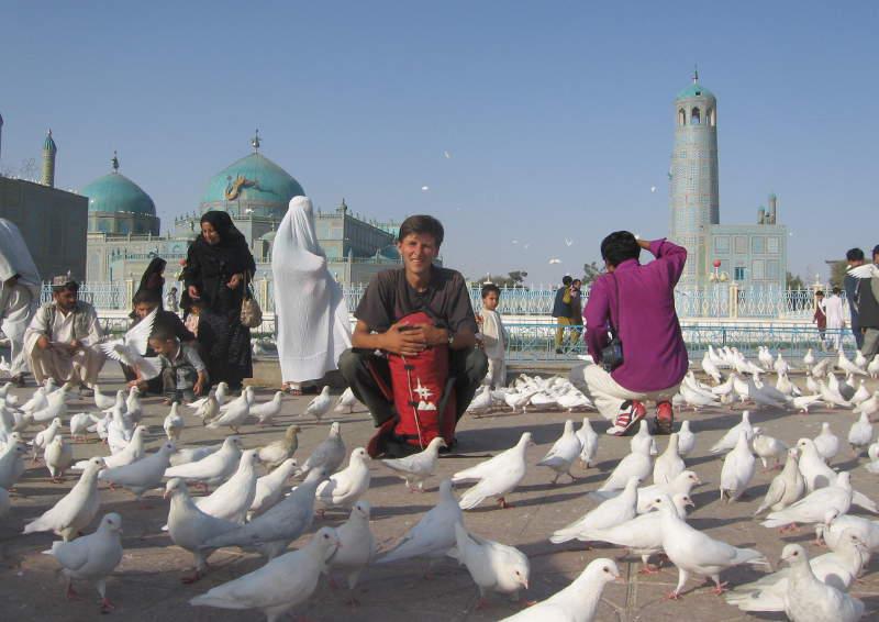 Дмитрий Попов в Мазари-Шарифе (Афганистан)