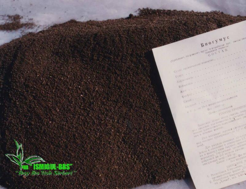Узбекский биогумус
