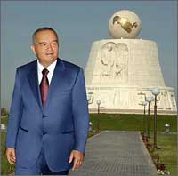 The biggest globe in Uzbekistan was solemnly presented in Bukhara