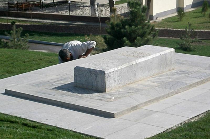 Могила археолога Вяткина