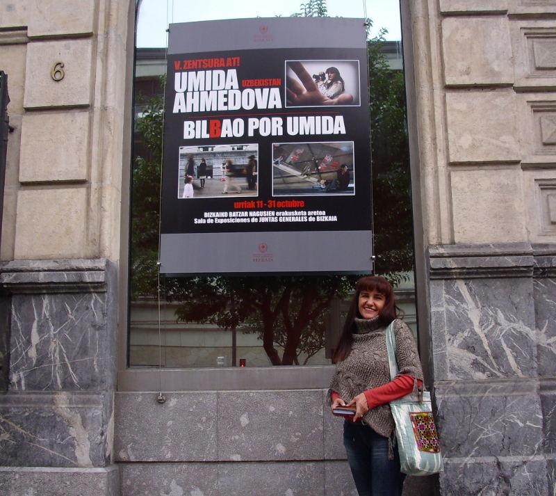 Умида Ахмедова в Бильбао