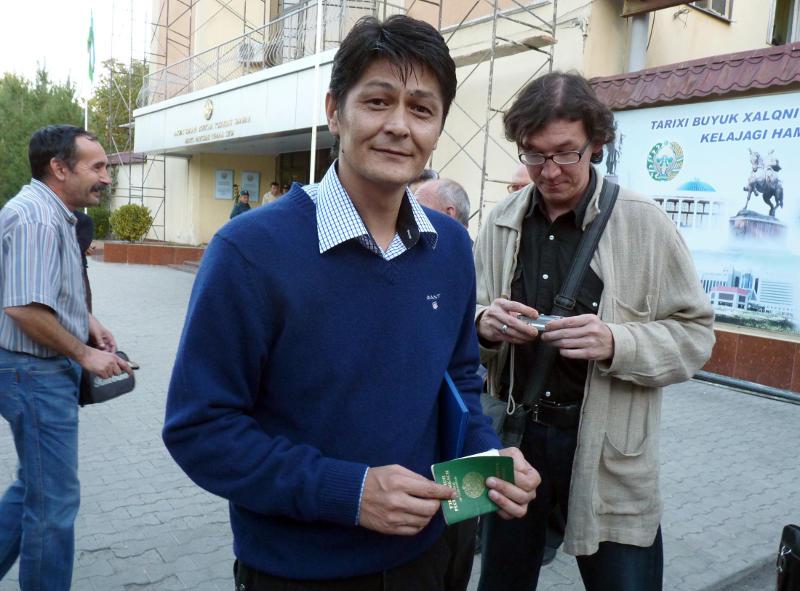 Малик Бобоев после оглашения приговора