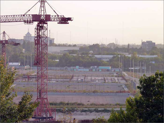 Construction du stade Bunedkhor