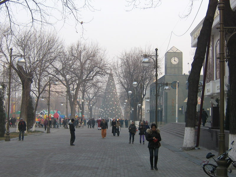 Главная улица столицы Узбекистана – Бродвей