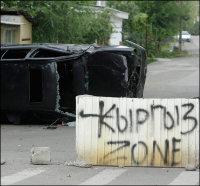 Kyrgyz bifurcation