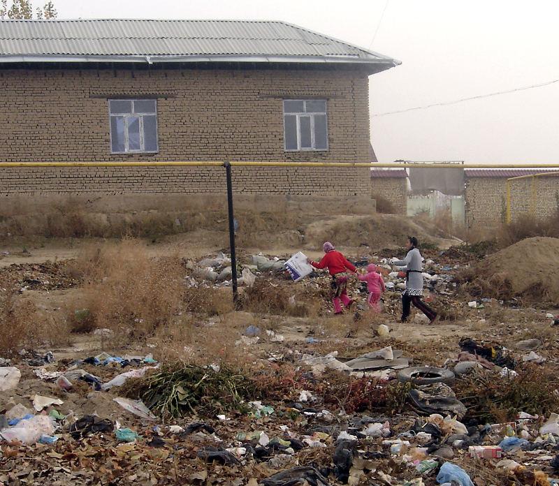 Дорога домой лежит через мусорную свалку