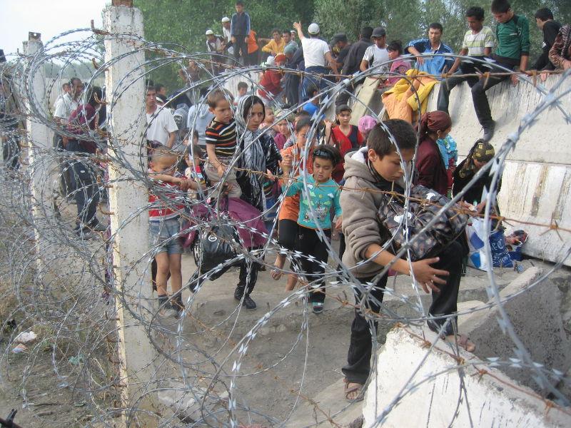 Les réfugiés kirghizes d'origine ouzbek en Ouzbekistan