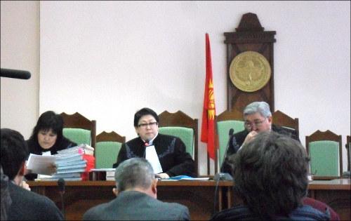 Заседание в Верховном Суде Кыргызстана