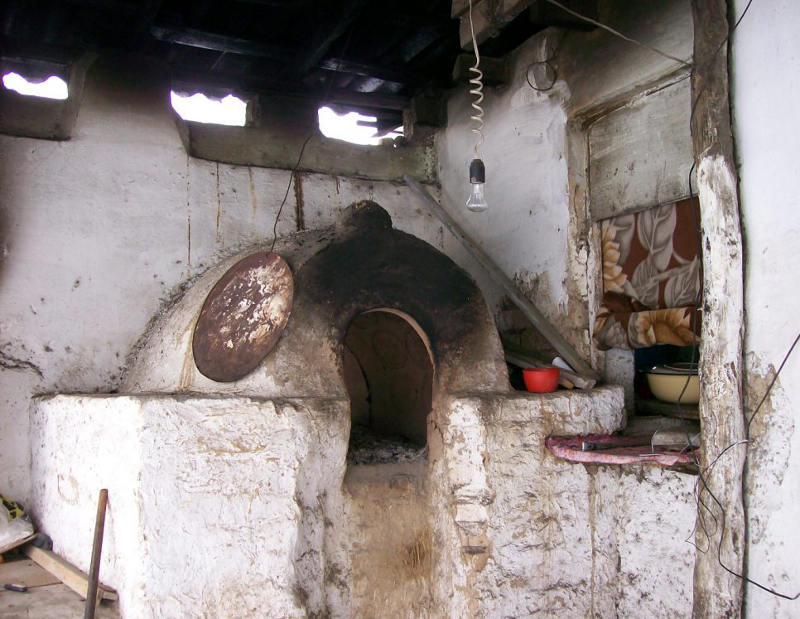 There's nobody left to use this bread oven