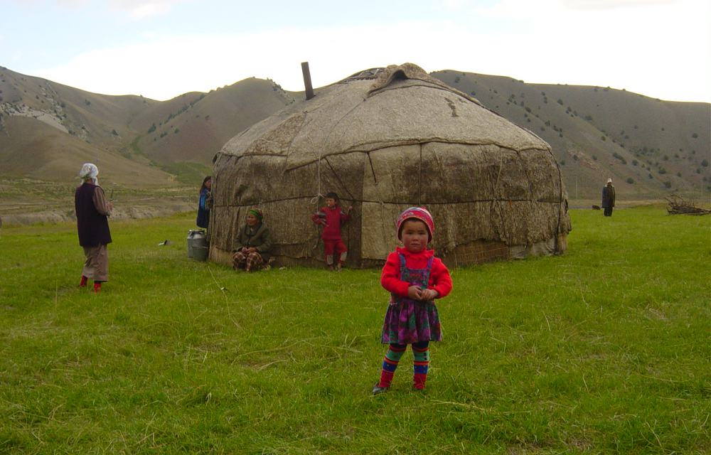 In the Kyrgyz mountains