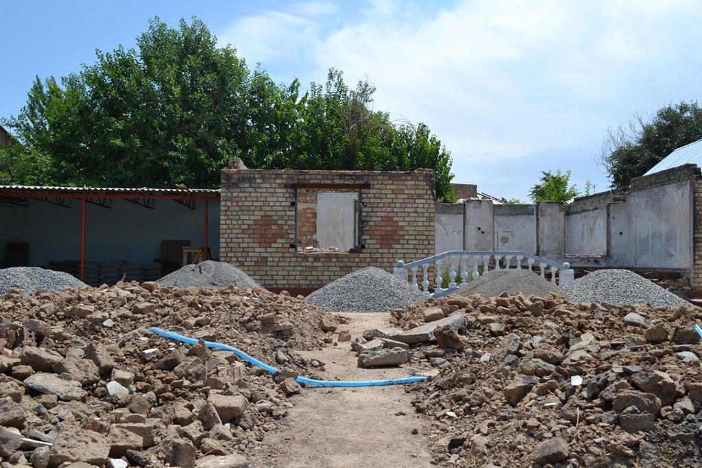 Строительство домов в Базар-Кургане