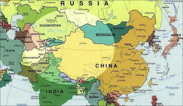Влияние Китая на Центральную Азию усиливается