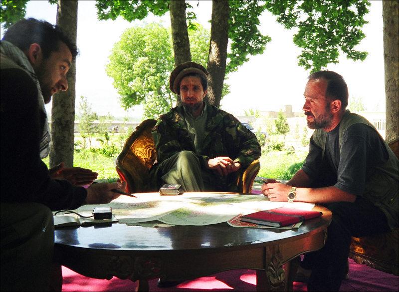 Амриулло Салех, Ахмад Шах Масуд, Александр Князев, апрель 1998 года