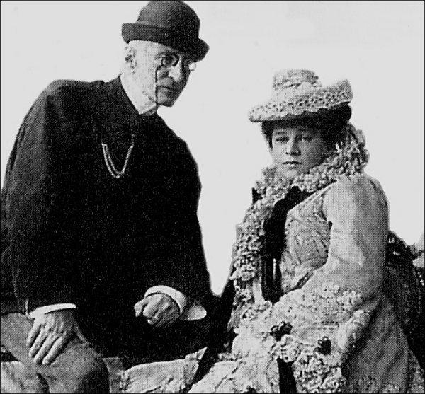 Великий князь Николай Константинович с женой Надеждой Александровной в Ташкенте.