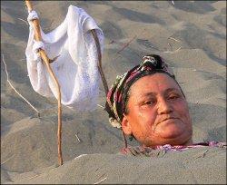 «Узбекский пляж», или Лечебный песок пустыни