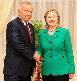 uzbekistan and usa relationship