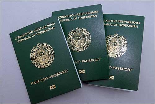 В Узбекистане начали выдавать биометрические паспорта (фото) Права Человека И Гражданина
