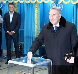 Why does Nazarbaev need a multi-party parliament?