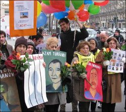 France: Human right activists extend their congratulations to Islam Karimov, too