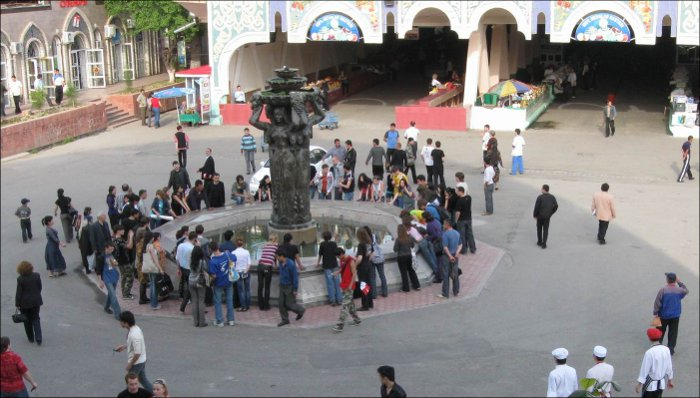 Флешмоб в Ташкенте