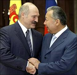 Lukashenko and Bakiev