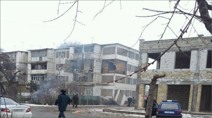 Взрыв в Андижане