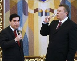 Бердымухамедов и Янукович